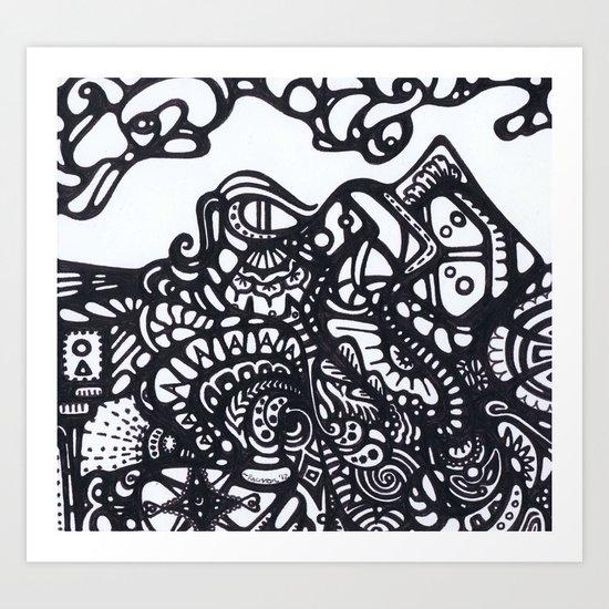 Mountain of Dreams Art Print