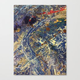 A Piece of All Space and Time Canvas Print