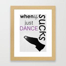 Just Dance Framed Art Print