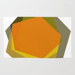 Harvest Hexagons Rug