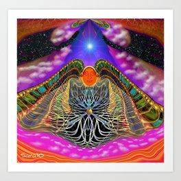Angel of Loving Attachment Art Print