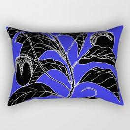 Western Nightshade (also know as Bush Tomato ) - Solanum chippendolei or Solanum coactilferum Rectangular Pillow