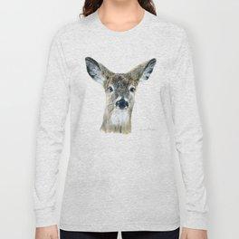 Doe Eyes by Teresa Thompson Long Sleeve T-shirt