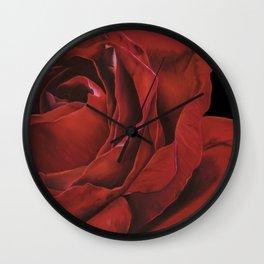 Annie Hardy dark horse Wall Clock
