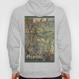 Merano (Italy) - Vintage Poster Hoody