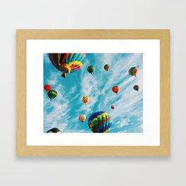Balloons balloons  Framed Art Print