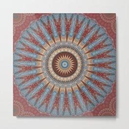 Some Other Mandala 424 Metal Print