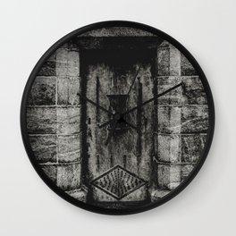 Time Tombs Wall Clock