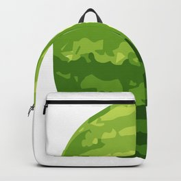 Water Melon Cut In Half Backpack