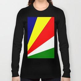 Flag of Seychelles Long Sleeve T-shirt