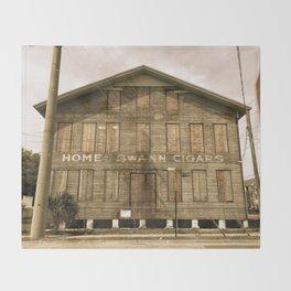 Historic Ybor Building Throw Blanket