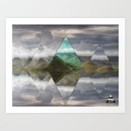 Chocolate Hills Philippines  Art Print
