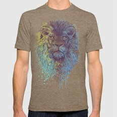 Lion King LARGE Tri-Coffee Mens Fitted Tee
