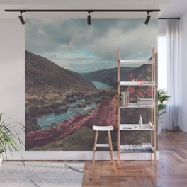 Wicklow and Scarves Wall Mural