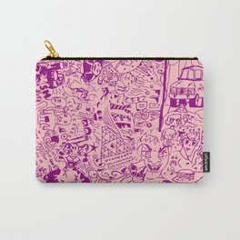 FROG DAD TEAM PINK Carry-All Pouch