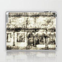 Greyfriars Bobby Pub Edinburgh Vintage Laptop & iPad Skin