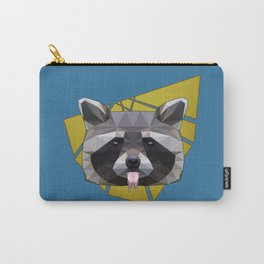Naughty Raccoon Carry-All Pouch