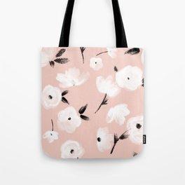 Brushed Florals Tote Bag