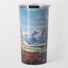 Tunnel View Yosemite Valley Travel Mug