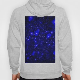 Dark Matter Galaxy Blue Hoody