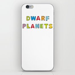 Dwarf Planets iPhone Skin