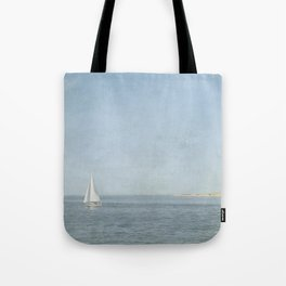 Sunday Sail  - Cape Cod Tote Bag