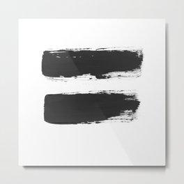 All equal Metal Print