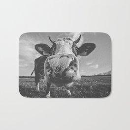 Inquisitive Cow Bath Mat