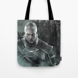 Geralt of Rivia - The Witcher 3 Tote Bag