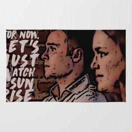 FS Comics - Sunrise Rug