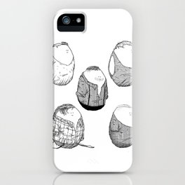 One Direction Eggs iPhone Case