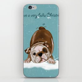 Have a Very Bully Christmas! iPhone Skin