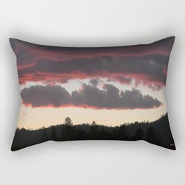 The end of another glorious day.... Rectangular Pillow