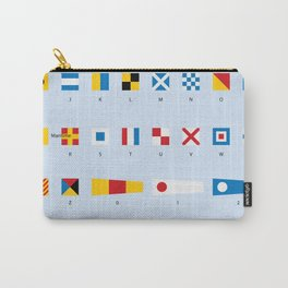 Maritime Signal Flags Poster Carry-All Pouch