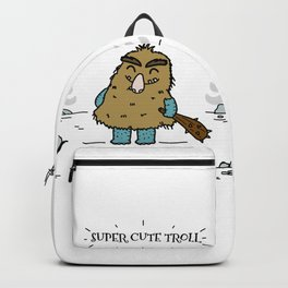 Cute Troll Backpack