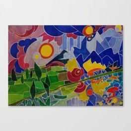 I Monti Sibillini (The Sibillini Hills) Canvas Print