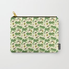 Fun Frogs with Leaves from Trees Carry-All Pouch