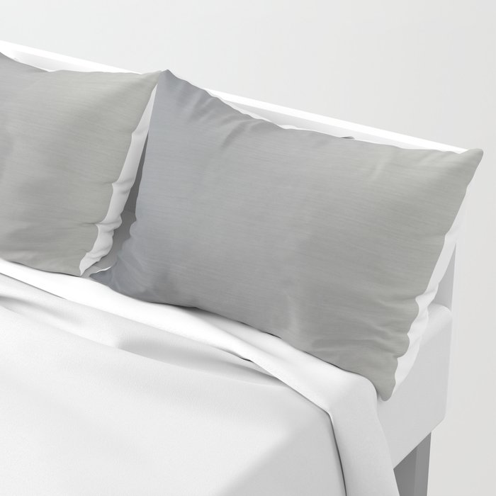 Brushed Metal Pillow Sham