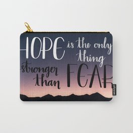 Hope Over Fear Carry-All Pouch