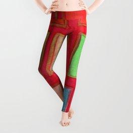 Some Chosen Rectangles ordered on Red Leggings