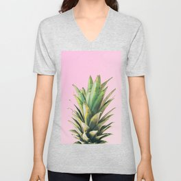 Pineapple Pink Unisex V-Neck