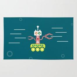 Underwater roboracoon Rug