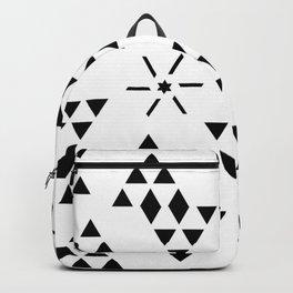 Triangle slide Pattern Backpack