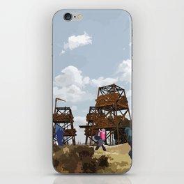 Sci-Fi Walkers iPhone Skin