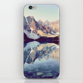 Moraine Lake Reflection iPhone Skin