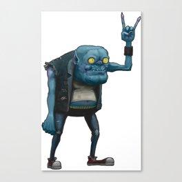 Metal Goblin Canvas Print