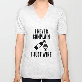 I Just Wine Unisex V-Neck