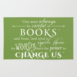 Words Have the Power to Change - Tessa (Med Green) Rug