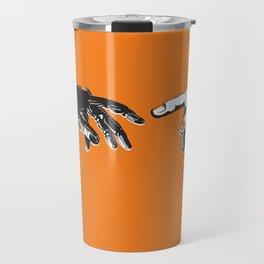 Creation 2.0 Classic Art Reimagined AI Sci Fi Print Travel Mug
