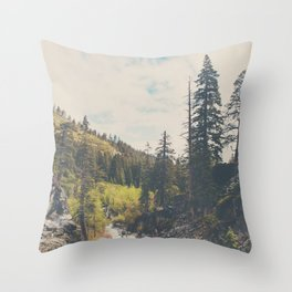 into the wild ...  Throw Pillow